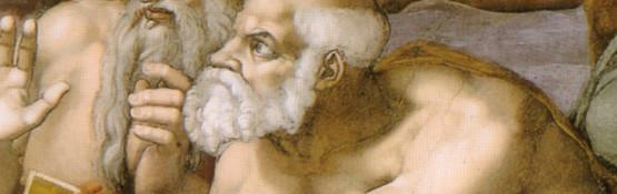 Michelangelo,_giudizio_universale,_dettagli_12_san_pietro 1