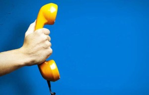 Rispondere al telefono in azienda