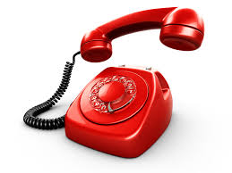 Organizzazione aziendale al telefono