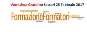 25.02.17 a Sassari - Workshop gratuito Formazione Formatori