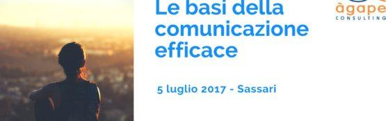 """Corso Agape """"Le basi della comunicazione efficace"""""""