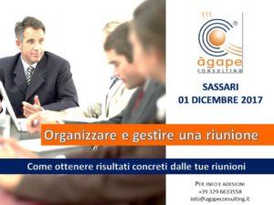 Organizzare e gestire una riunione