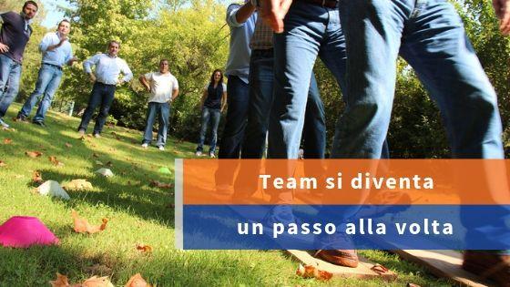 Team in 3 passi