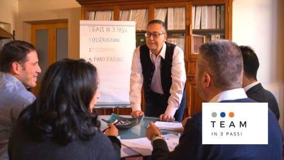 TEAM IN 3 PASSI Team coaching