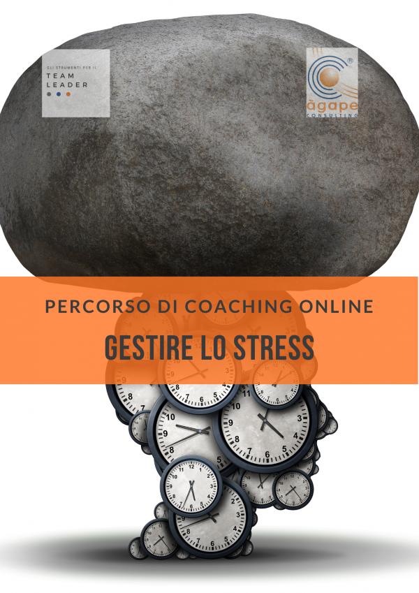 Percorso di coaching online GESTIRE LO STRESS